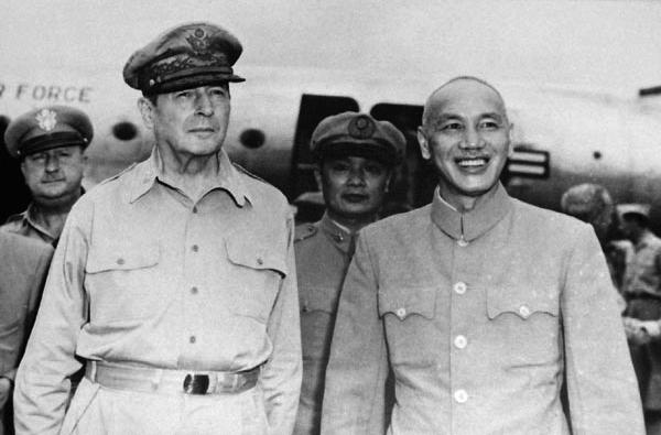 McArthur and Chiang-Kai-Shek