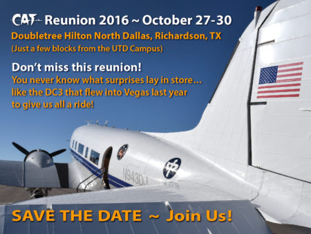CAT 2016 Reunion Save the Date